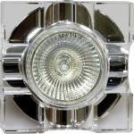 Светильник потолочный, MR16 G5.3 с прозрачным стеклом, хром, C2023A