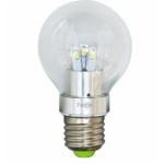 Лампа светодиодная, 10LED(5W) 230V E27 2700K, LB-42, шар A60