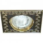 Светильник потолочный, MR16 G5.3 золото-титан, DL2008S