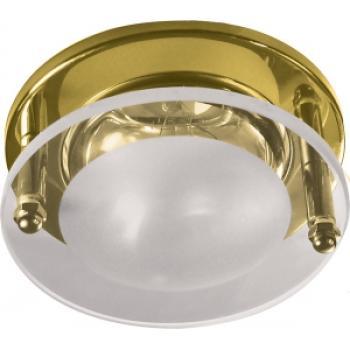 Светильник потолочный, R50 E14 Встраиваемые, золото, 1787