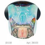 Светильник потолочный, JCD9 35W G9 многоцветный,золото, JD118