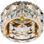 Светильник потолочный, MR16 50W G5,3, прозрачный, хром, CD4527