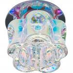 Светильник потолочный, JCD9 35W G9 прозрачный-матовый,золото, JD111
