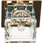 Светильник потолочный,JCD9 35W G9, прозрачный,хром с лампой, CD2727