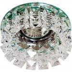 Светильник встраиваемый потолочный MR16 MAX50W 12V G5.3, прозрачный, CD2929