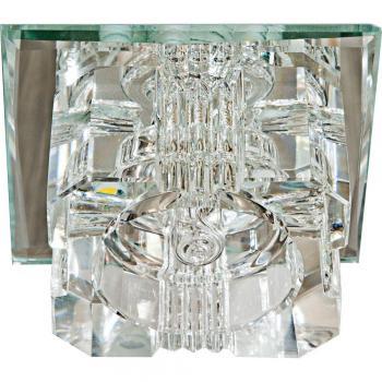 Светильник встраиваемый со светодиодной подсветкой 2.5W 4000K JCD9 35 W 230V/50Hz G9, прозрачный, прозрачный, JD61