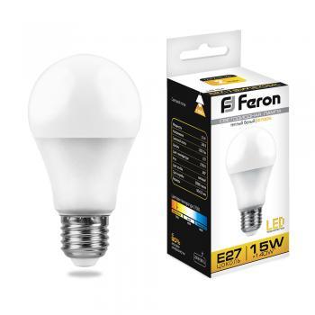 Лампа светодиодная, (15W) 230V E27 2700K, LB-94