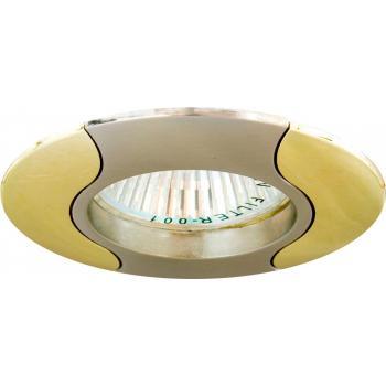 Светильник потолочный, MR16 G5.3 титан-золото, 020Т-MR16
