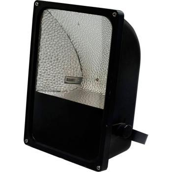 Прожектор металлогалогенный 70W 230V R7S с пускателем, черный, SPO3