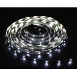 Лента светодиодная, 120SMD(3528)/m 9.6W/m 12V 5m белый на белом, LS612