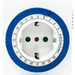 Розетка с таймером (суточная) 3500W/16A 230V, 61923(TM32)