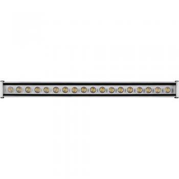 Светодиодный линейный прожектор ЛЮКС, 18LED 6500К, 600*50*55mm, 18W AC230V, IP65,LL-879 , артикул 32049