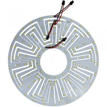 Светодиодный модуль на алюм.основании, 18W 36LED SMD5730 1080Lm 6400K (большой) D260mm, LB-1223