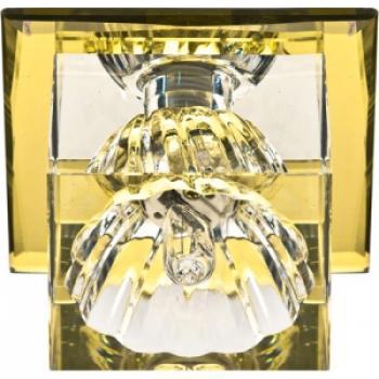 Светильник декоративный JD55 JCD9 35W G9 желтый,хром