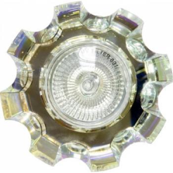 Светильник потолочный, MR16 G5.3 с многоцветным стеклом, хром, C2027CB