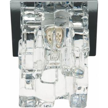 Светильник потолочный, JCD9 35W G9 прозрачный,хром, JD174