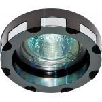 Светильник потолочный, MR16 G5.3 черный и хром, DL193