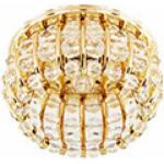 Светильник потолочный, JCD9 G9 с прозрачным стеклом, золото, с лампой, CD2119