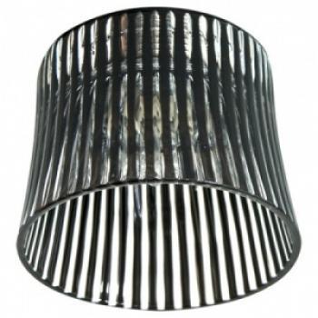 Светильник потолочный, JCD9 35W G9 с красным стеклом, хром с лампой, CD2319