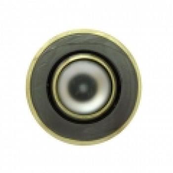 Светильник потолочный, R50 E14 черный-золото, 301-R50