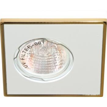 Светильник потолочный MR16 MAX50W 12V G5.3,алюминий, золото DL 2A