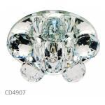 Светильник потолочный, JCD9 35W G9 прозрачный,прозрачный, CD4907