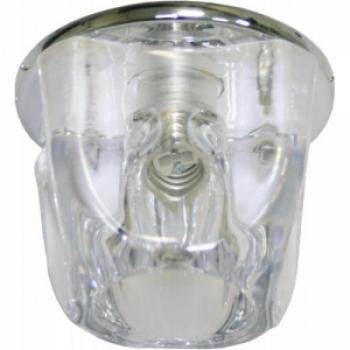 Светильник потолочный, JCD9 35W G9 прозрачный,хром, JD118