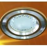 Светильник встраиваемый со светодиодной лампой, 24LED 2.5W 220V , золото, DL4747