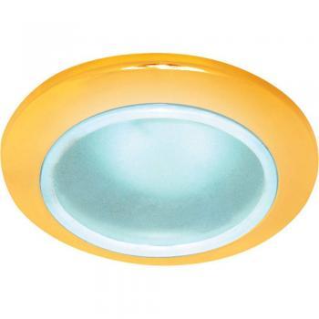 Светильник потолочный, MR16 G5.3 с матовым стеклом, золото, DL202