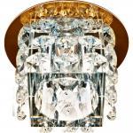 Светильник потолочный, JCD9 35W с прозрачным стеклом, хром, JD58
