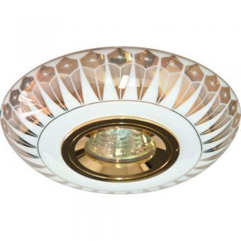 Светильник потолочный MR16 MAX50W 12V G5.3 золото,белый, С2727