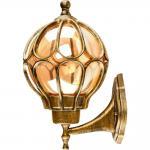 Светильник садово-парковый, 60W 230V E27 IP44 черное золото, PL3701