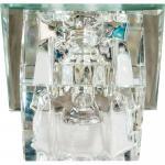 Светильник встраиваемый со светодиодной подсветкой 2.5W 4000K JCD9 35 W 230V/50Hz G9, прозрачный, прозрачный, JD62