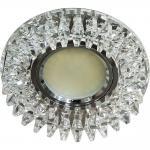 Светильник встраиваемый 12LED*3014SMD 6500К MR16 50W G5.3, прозрачный, прозрачный, CD2540