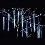 Гирлянда 24V,48LED, белый цвет свечения, 8 подвесов, расстояние м/у подвесами: 30 см, длина гирлянды: 2,4м, длина шнура: 3м, IP44, CL75