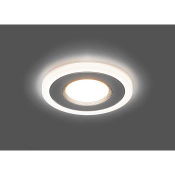 Светодиодный светильник Feron AL2770 встраиваемый 9W 4000K и подсветка 4000К белый