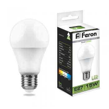 Лампа светодиодная, (15W) 230V E27 4000K, LB-94