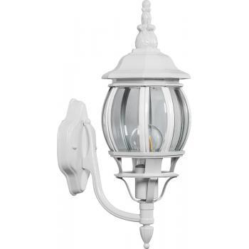 Светильник садово-парковый, 100W 230V E27 белый, 8102
