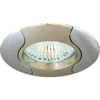 Светильник потолочный, MR16 G5.3 титан-хром, 020Т-MR16