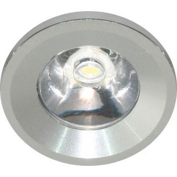 Светодиодный светильник встраиваемый со светодиодом,LED 1*1W, 230V, круг G770