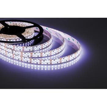 Лента светодиодная, 240SMD(3528)/m 19.2W/m 12V 5m белый на белом, LS615