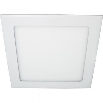 Светодиодный светильник встраиваемый со светодиодами AL502 6W 6400K 30pcs SMD2835 AC230V/50Hz 490LM 120*120*13mm, хром