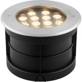 Тротуарный светодиодный светильник ЛЮКС, 12W 3000K AC230V D180*H120мм IP67,SP4315 , артикул 32071