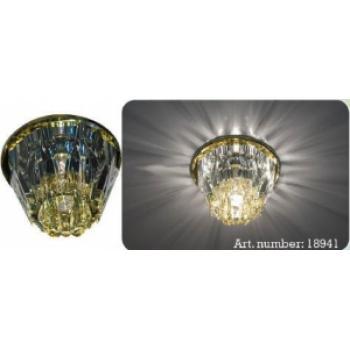 Светильник потолочный,JCD9 35W G9, желтый,хром,JD156