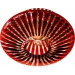 Светильник потолочный, JCD9 G9 с красным стеклом, с лампой, CD2116