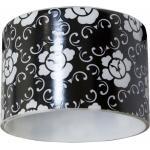 Светильник потолочный, MR16 G5.3 черный фон - белый рисунок, CD6037