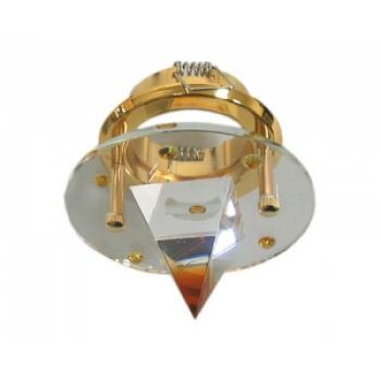 Светильник точечный DL4163 Цвет: желтый / золото