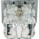 Светильник потолочный, JCD9 35W G9 прозрачный,хром, JD183