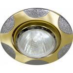 Светильник потолочный, MR16 G5.3 матовое золото-хром, 156Т-MR16