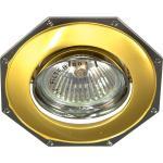 Светильник потолочный, MR16 G5.3 золото-хром, 305T-MR16